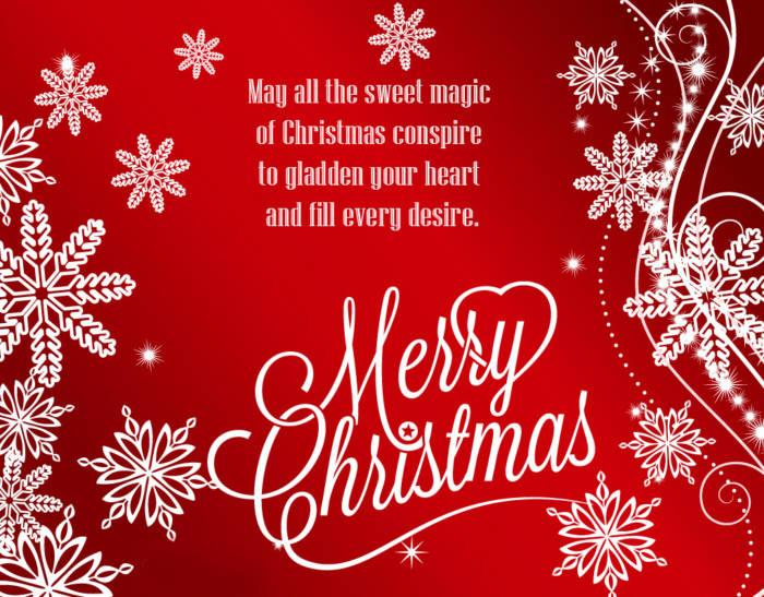 Католическое Рождество - картинки с поздравлениями на английском