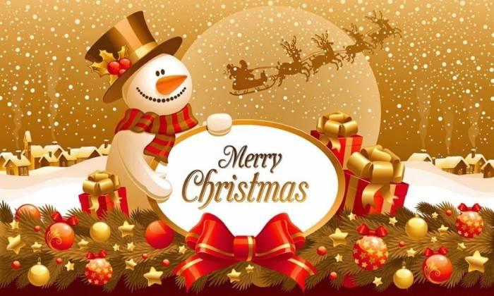 Католическое Рождество - картинки с поздравлениями на английском языке