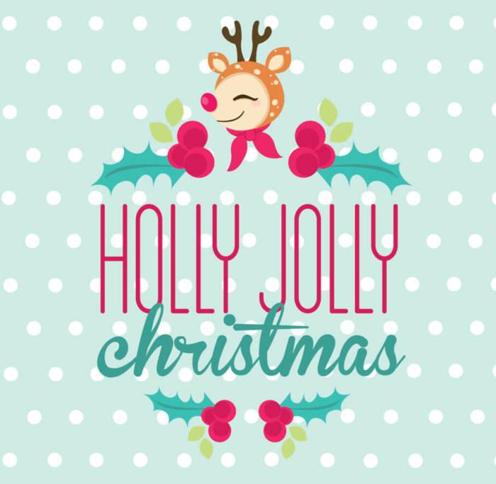 Веселого Рождества открытки на английском