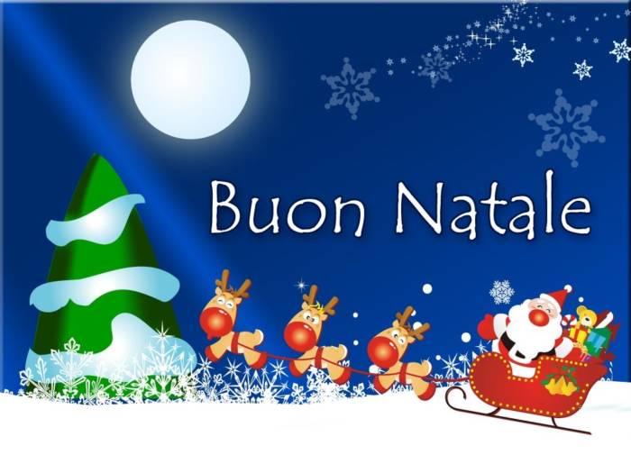 С Рождеством католическим - картинки с поздравлениями на итальянском скачать бесплатно