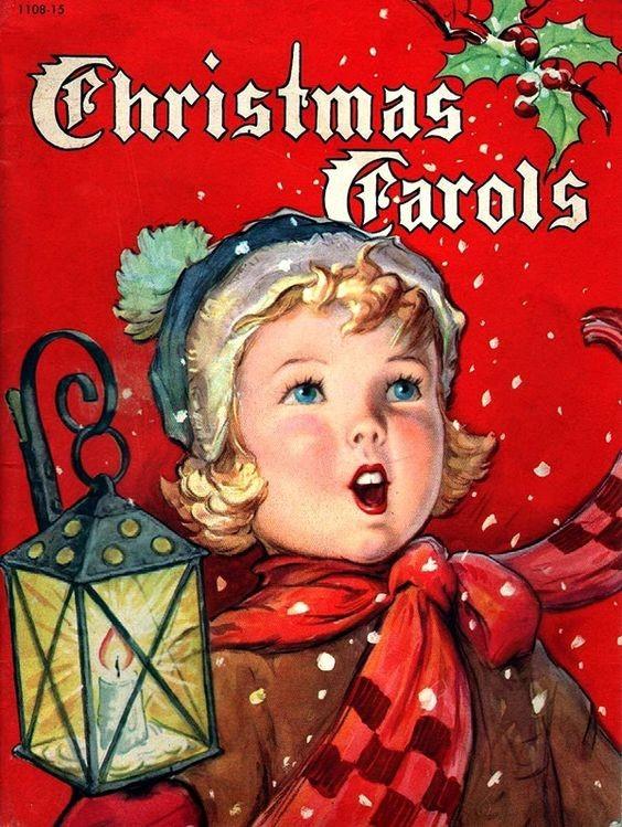 Винтажные открытки с Рождеством католические