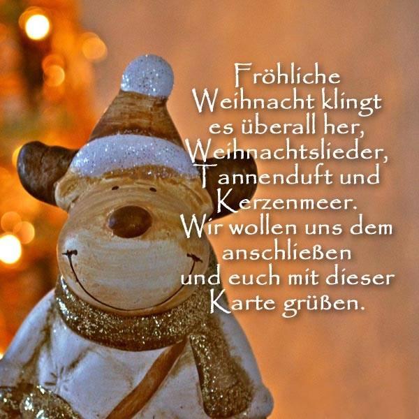 Поздравления с Рождеством на немецком языке в стихах