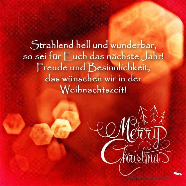 """Бесплатные Открытки """"С Рождеством"""" на немецком языке"""