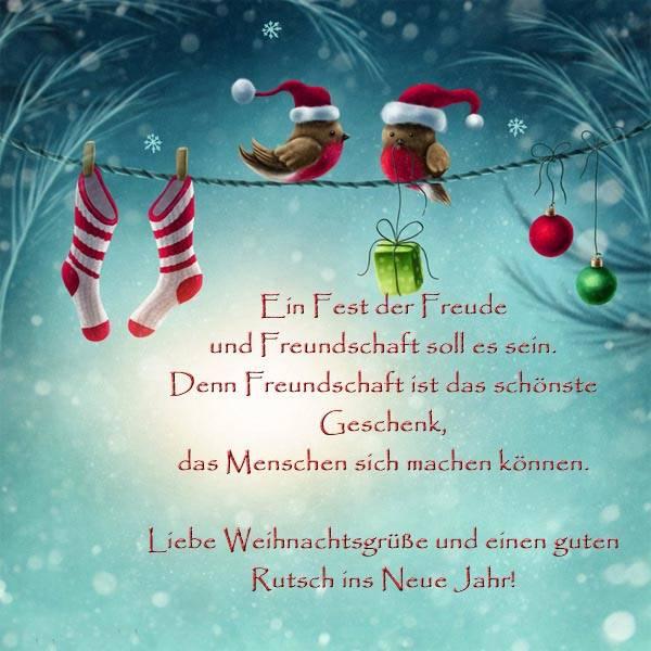 Поздравления с Рождеством на немецком языке в прозе