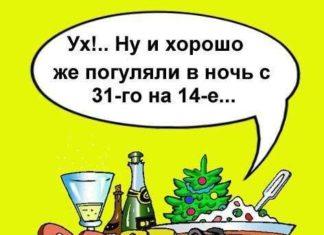 Смешные новогодние анекдоты