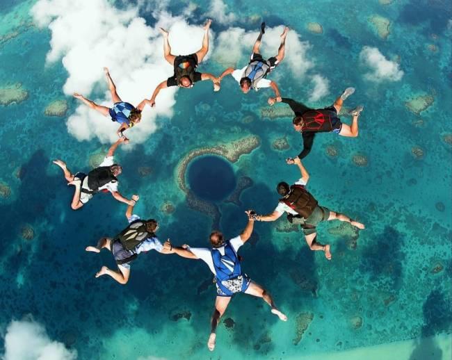 Большая Голубая дыра Белиз фото