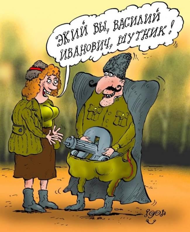 Анекдоты про Ивана Васильевича и Петьку читать