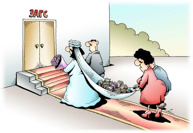 Самые смешные анекдоты про свадьбу и молодоженов