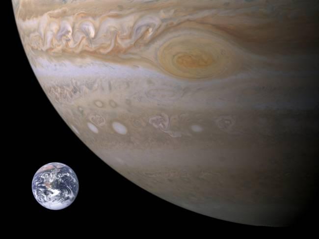 Какая самая большая планета в солнечной системе