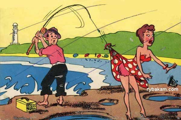 Картинки про рыбалку ко Дню рыбака прикольные и смешные скачать