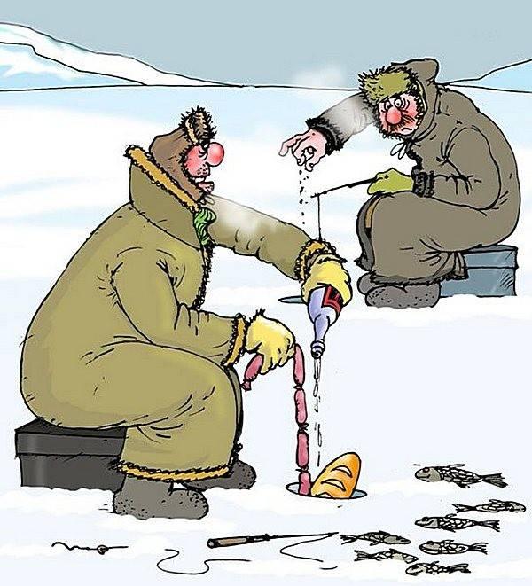 везде смешные картинки про рыбалку и рыбаков этого дня отсчет