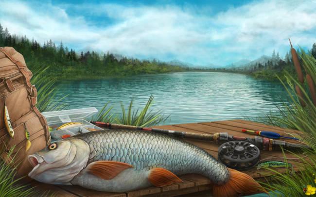 Прикольные песни про рыбалку и рыбаков