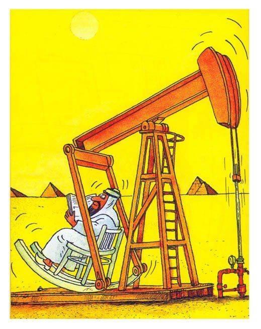 Прикольные картинки про нефть