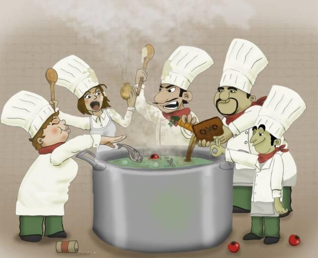 Прикольные и смешные картинки про поваров