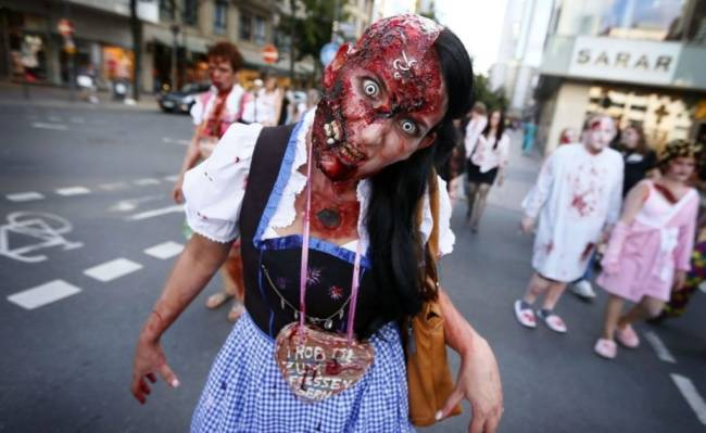 Ржачные фото про Хэллоуин