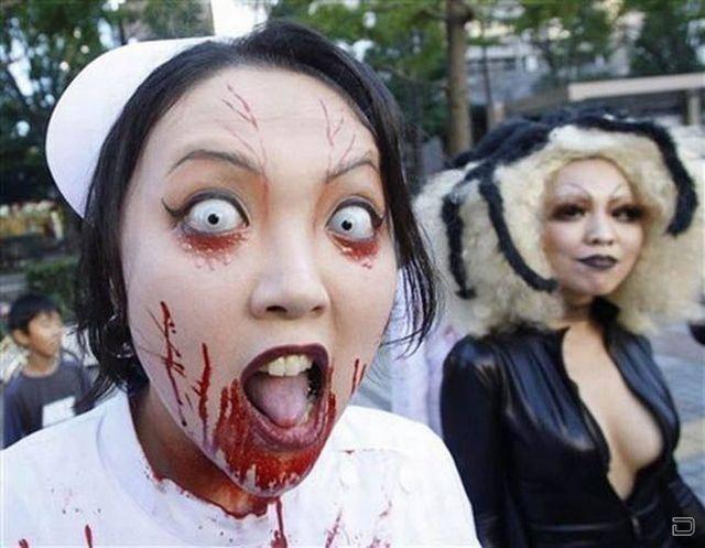 Прикольные фото про Хэллоуин