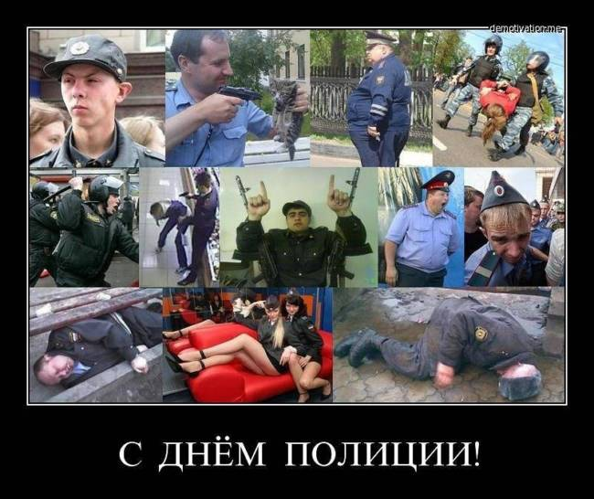 смешные и прикольные картинки про полицию и полицейских