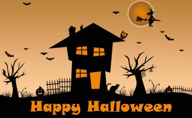 Самые прикольные и страшные картинки на Хэллоуин скачать
