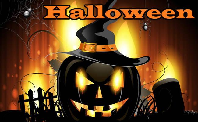 Хэллоуин - прикольные картинки с поздравлением