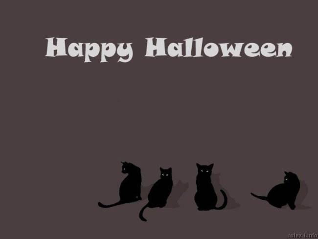 Картинки-поздравления на Хэллоуин прикольные