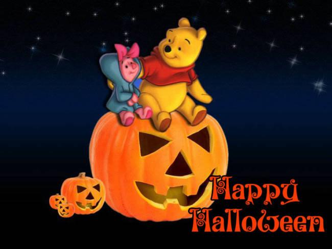 Прикольные картинки-поздравления с Хэллоуином
