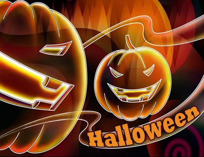 Страшные картинки на Хэллоуин прикольные