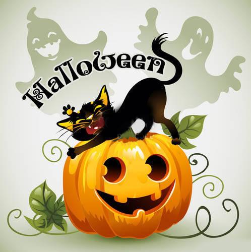 Прикольные картинки на Хэллоуин для поздравлений
