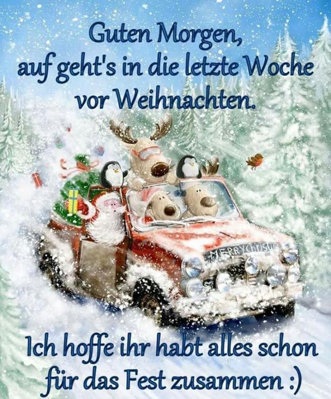 Открытка с католичсеким Рождеством в поздравлениями на немецком языке