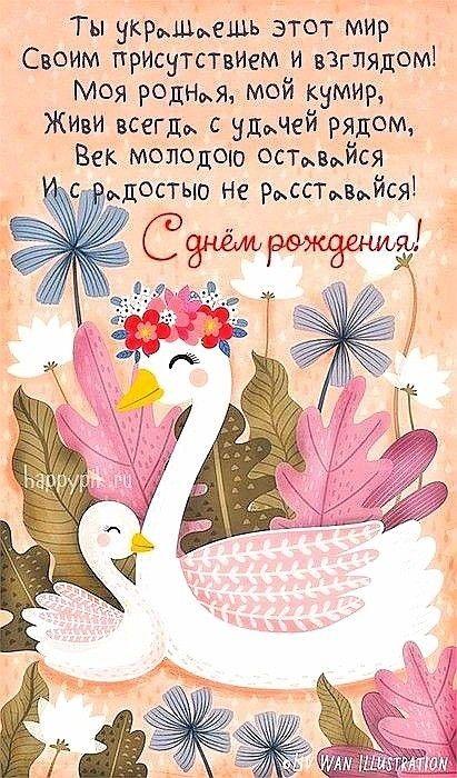 Поздравление с днем рождения маме