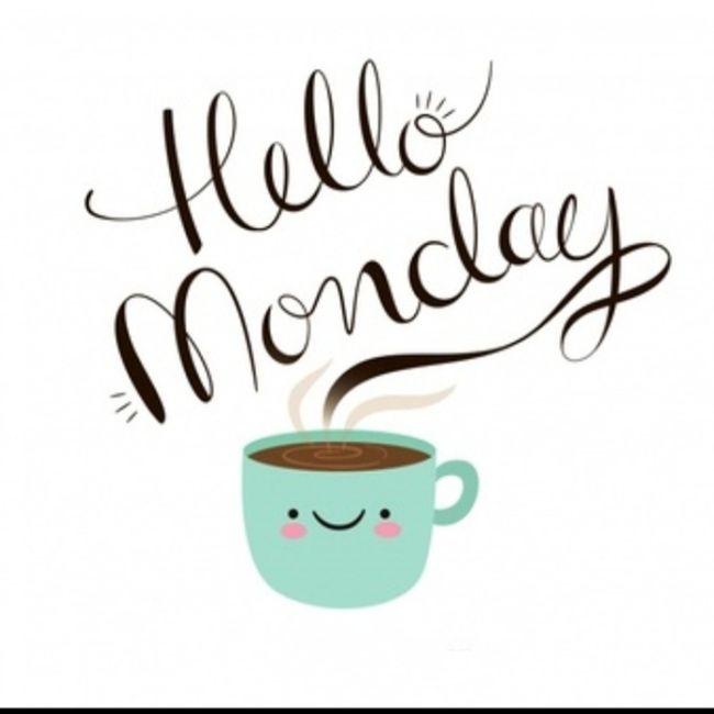 Понедельник кофе картинки с пожеланиями