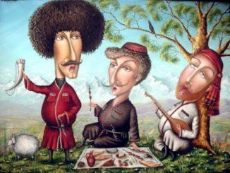 Кавказские грузинские тосты