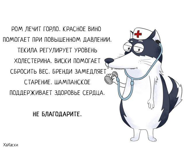 ХаХаски - забавные комиксы о жизни и приключениях Карла (Часть I)