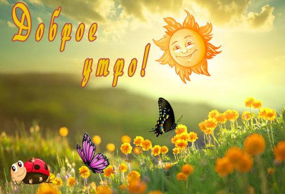 Надеемся вы нашли подходящее пожелание Доброе утро с пожеланиями добра