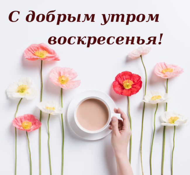 Доброе утро воскресенье