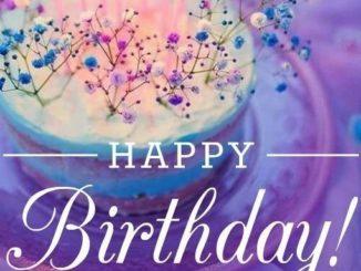 Красивое поздравление с днём рождения
