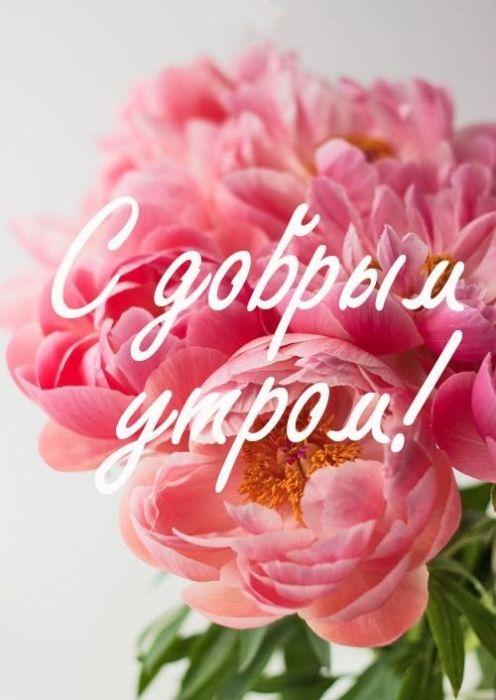 Доброе утро с пожеланиями добра