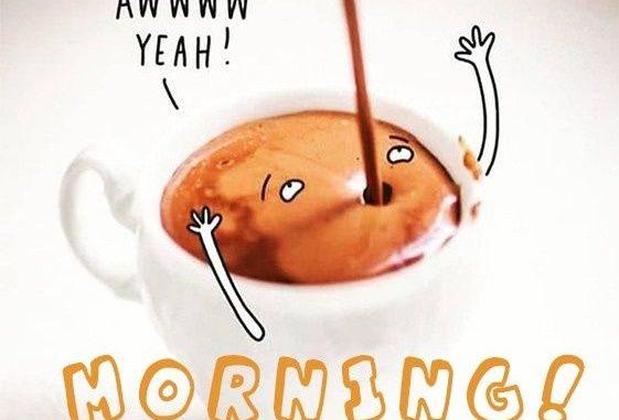 Доброе утро картинки прикольные