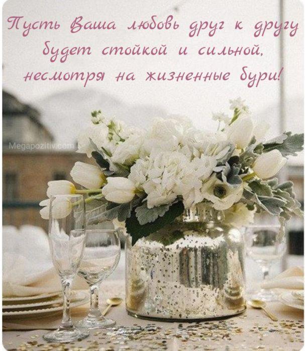 Короткие поздравления на свадьбу