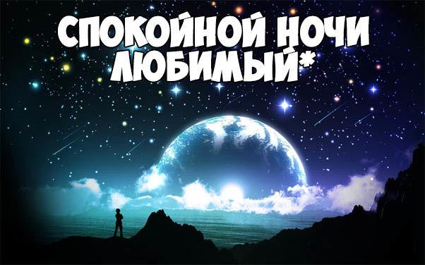 Пожелания спокойной ночи любимому своими словами