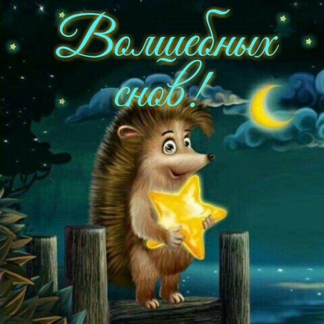 Красивые пожелания спокойной ночи
