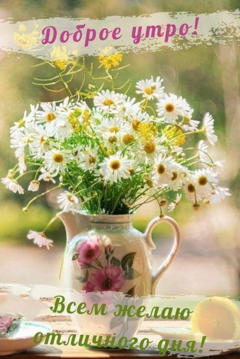 Открытки с добрым утром и хорошего настроения