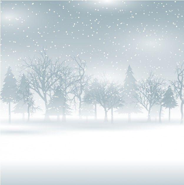 Зимний лес картинки