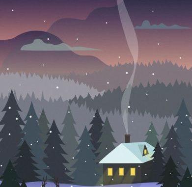 Зимние картинки для детей