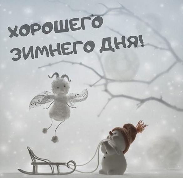 Прикольные зимние картинки