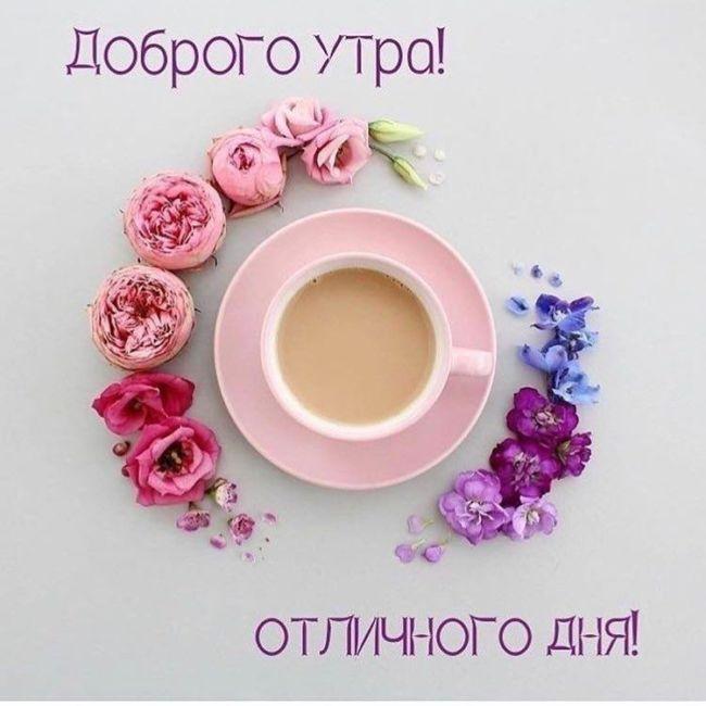 Доброе прекрасное утро картинки