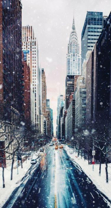 Зимние картинки на телефон красивые