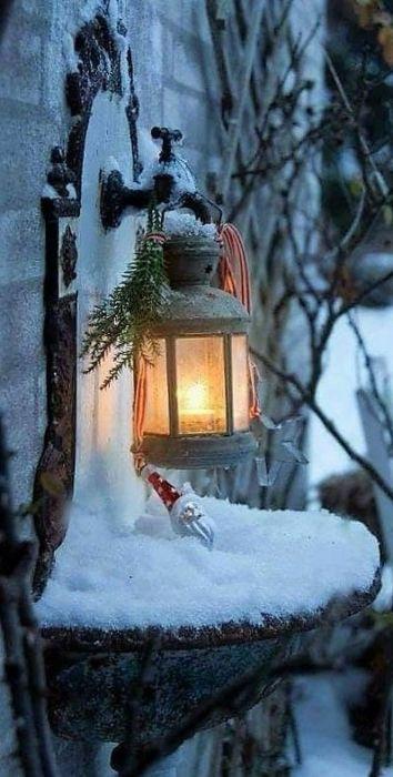 Необычные зимние картинки