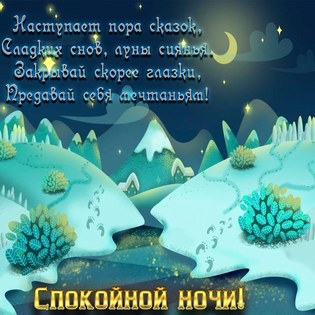 Спокойной зимней ночи