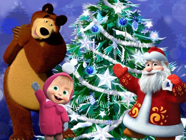 Поздравление с новым годом для детей