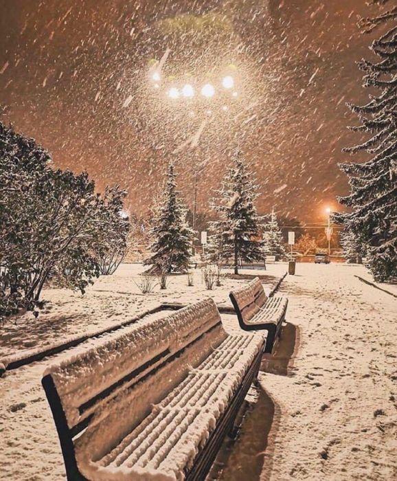 Скачать красивые зимние картинки